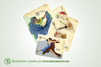 Danza y Filatelia