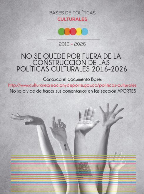 Bases políticas culturales